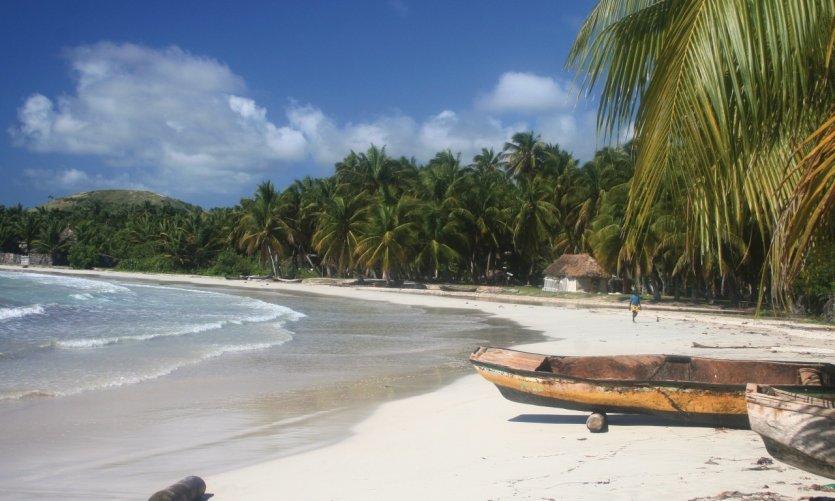 Plage des Cayes.