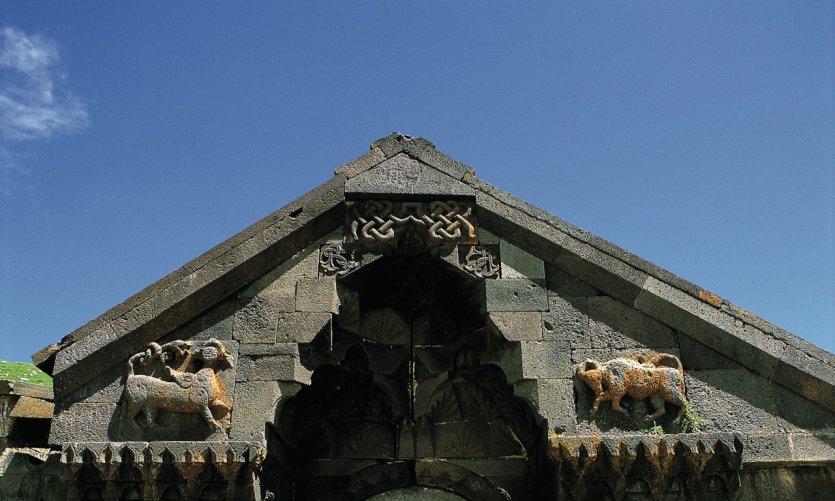 Caravansérail sculpté du col de Selim.