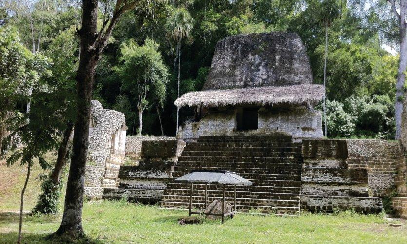 Site précolombien de Tikal.