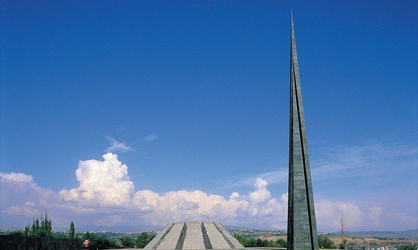 Monument du génocide arménien.