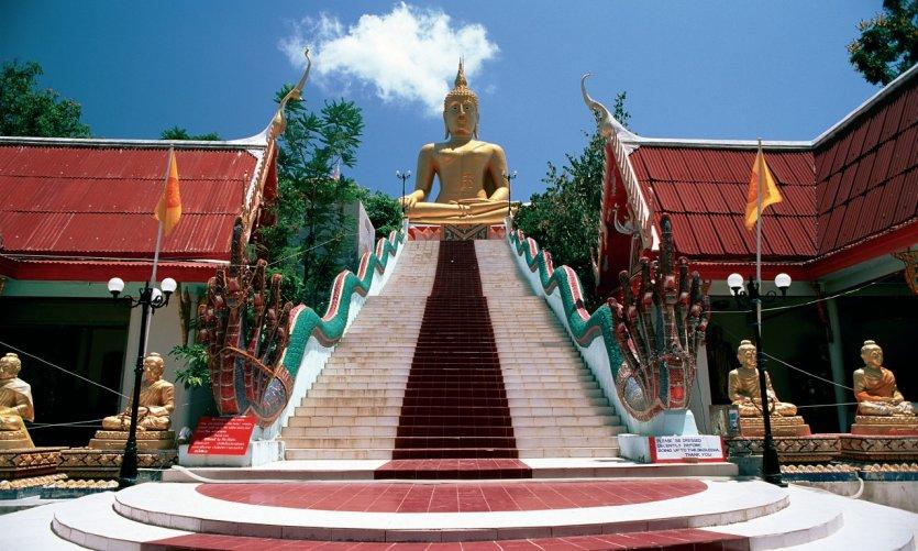 <p>Big Buddha, Koh Samui.</p>