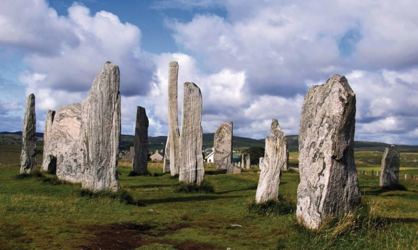 L'ensemble mégalitique de Callanish.