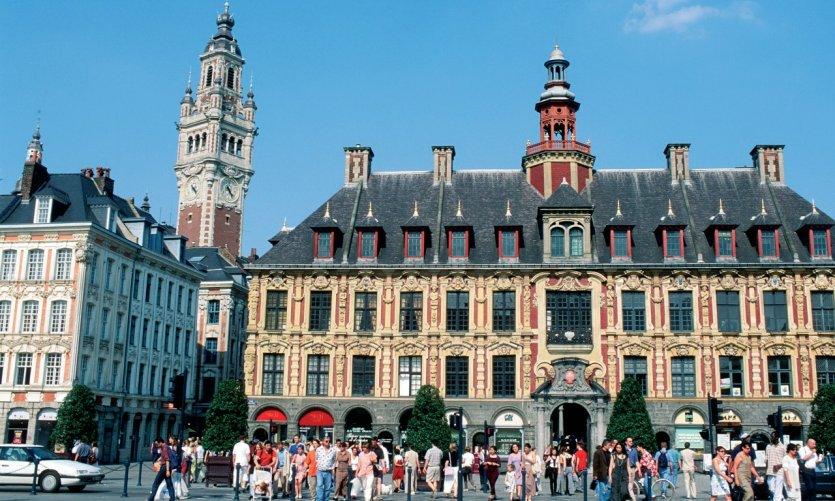La Vieille Bourse, sur la Grand'Place de Lille