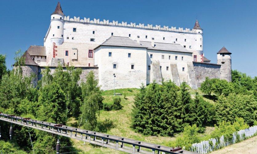 Château urbain de Zvolen.
