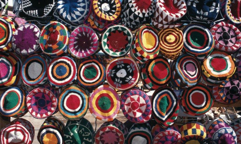 Calottes islamiques, marché de Khan el-Khalili.