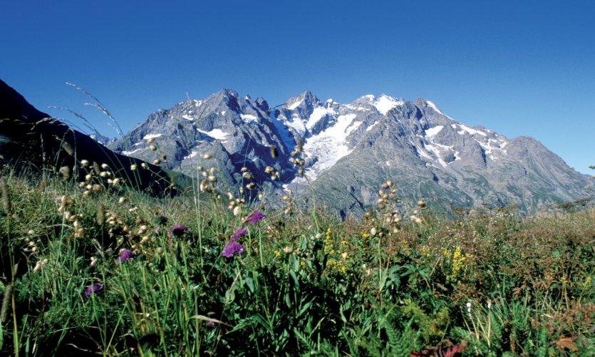 Dans le massif de la Meije