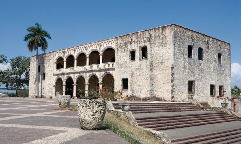 L'Alcazar de Colon dans la zone coloniale.