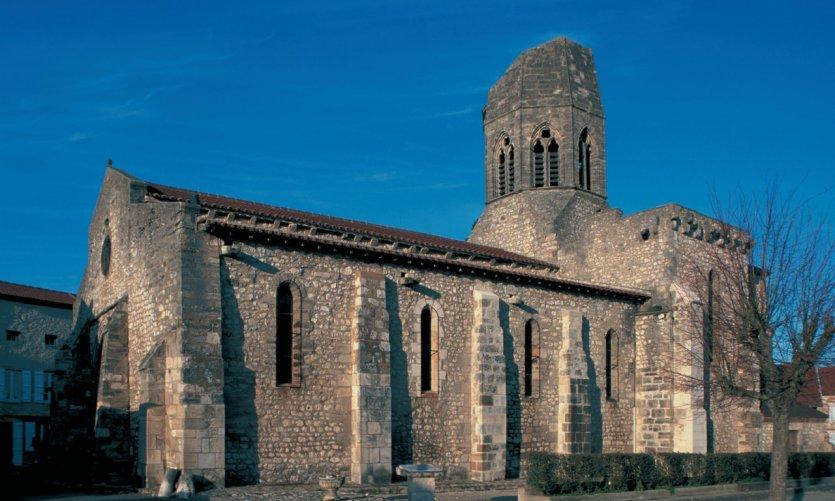 L'église Saint-Jean-Baptiste de Charroux