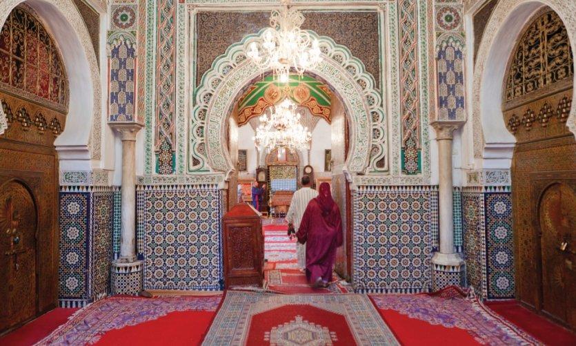Zaouïa de Moulay Idriss.