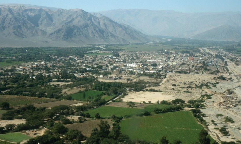 Vallée de Nazca.