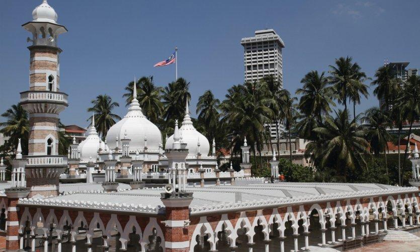 <p>Masjid Jamek Mosque</p>