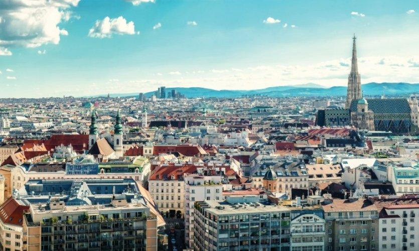 Panorama sur la ville de Vienne.
