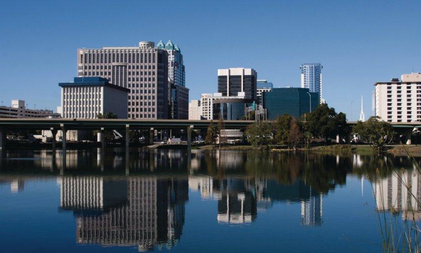 View of Orlando.