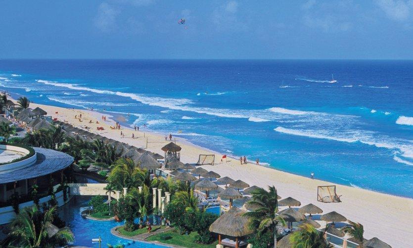 Station balnéaire de Cancun.