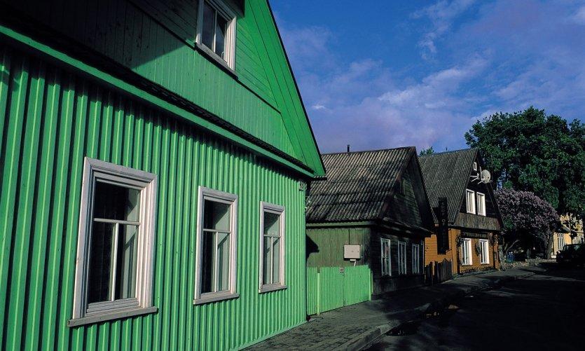 <p>Viviendas en Trakai.</p>
