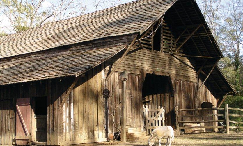 Oakley Plantation, ferme attenante.