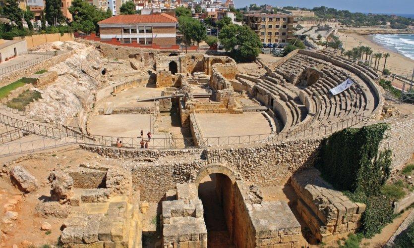 Amphithéâtre romain de Tarragone.