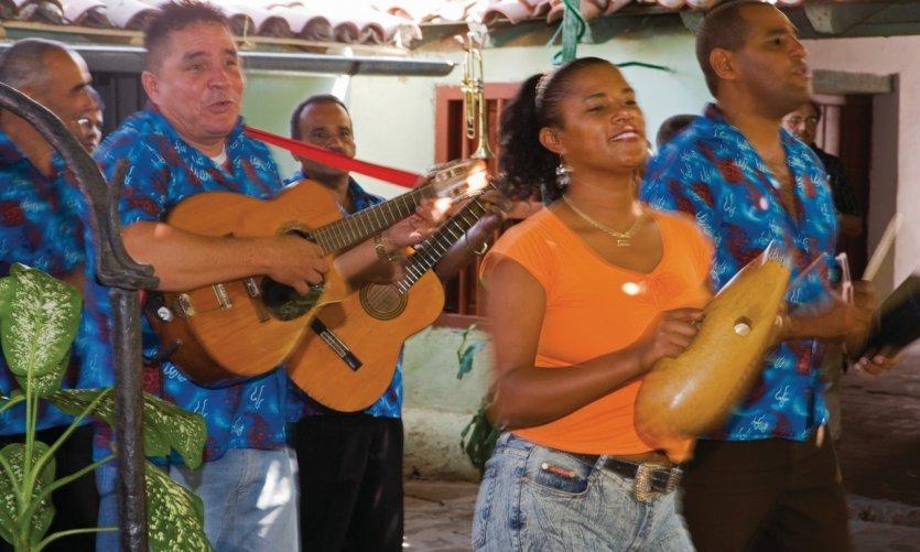 Musiciens de la Casa de la Trova.