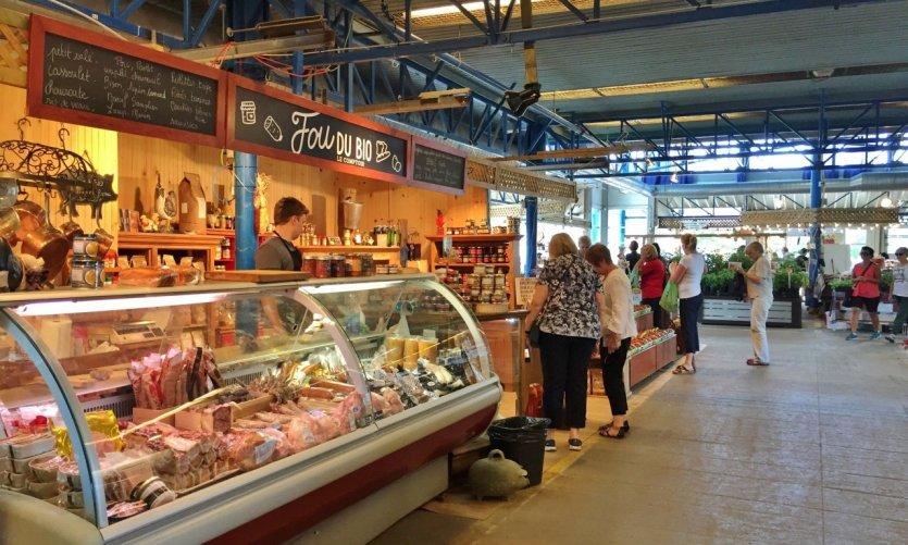 Marché du Vieux-Port de Québec.