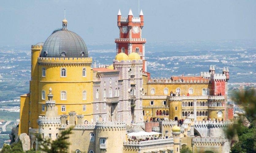 Palacio da Pena, Sintra.