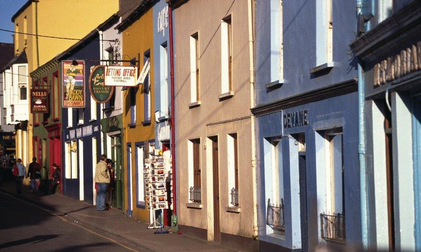 Les rues colorées de Dingle