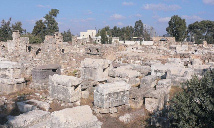 Nécropole à côté de l'Hippodrome, Tyr