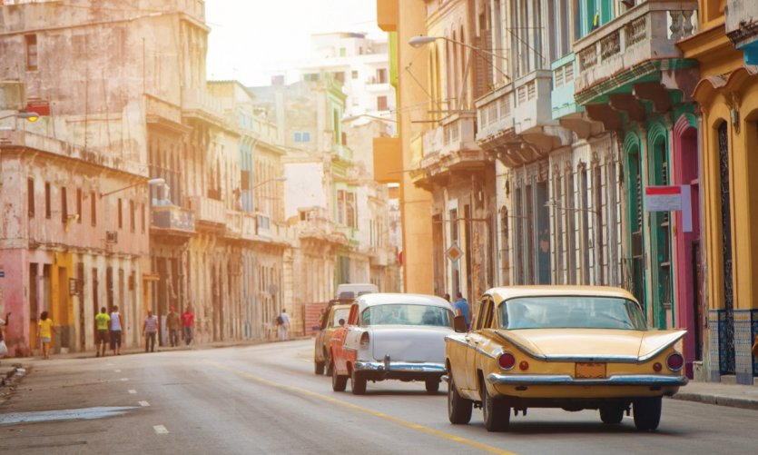 Façades de La Havane.