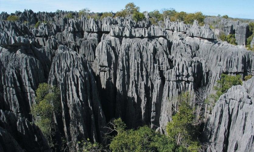 Large Tsingys of Bemaraha