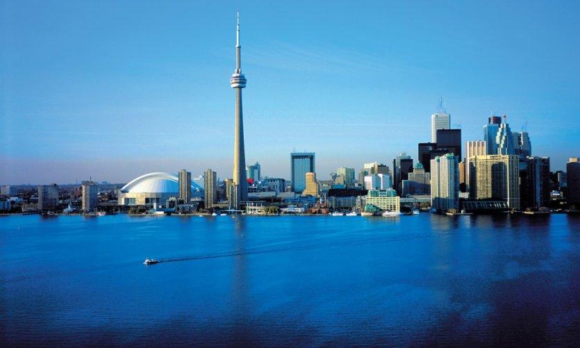 Vue générale de Toronto.