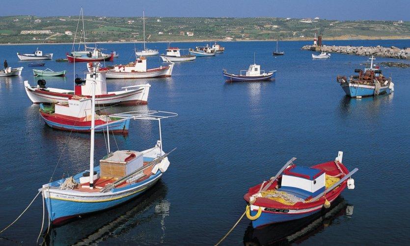 Port du Péloponnèse.