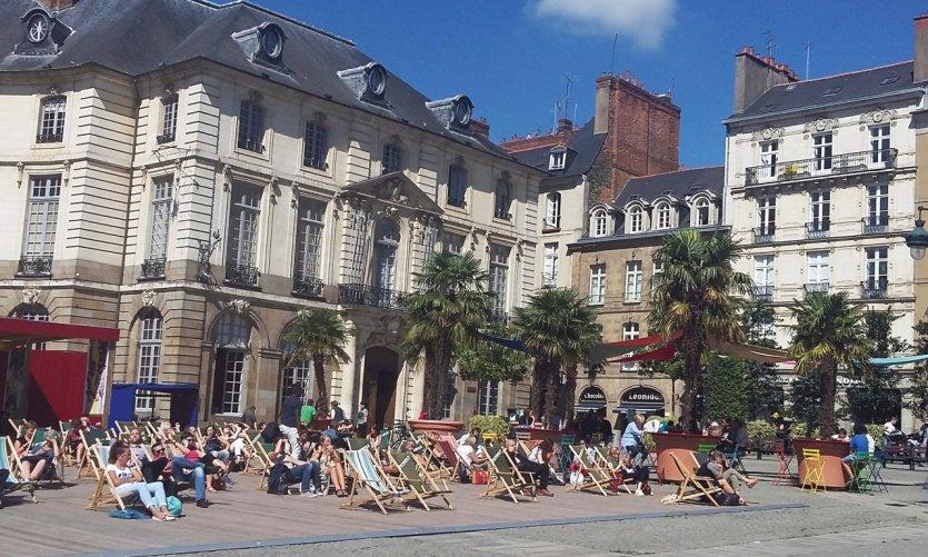 Transat en Ville, place de la mairie.