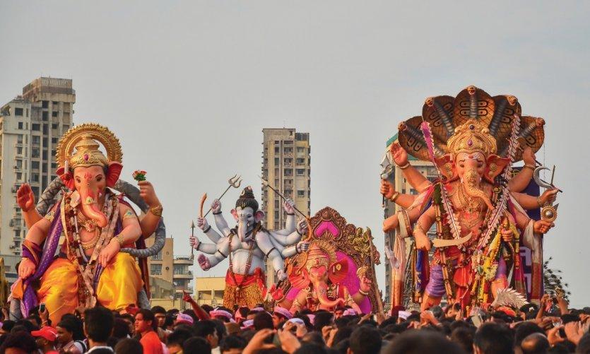 Fête de Ganesh.