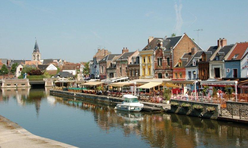 Le quai Bélu - Amiens