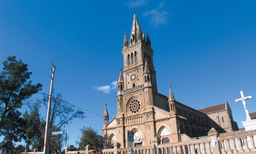 <p>Catedral de Antsirabe</p>