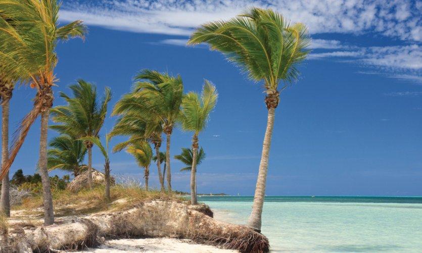 Plage tropicale de Cuba.
