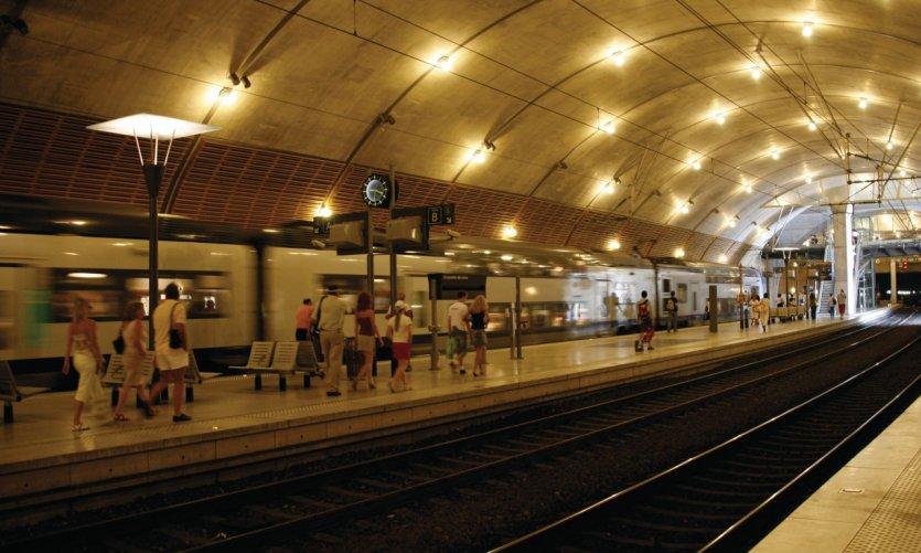 Gare de Monaco Monte-Carlo.