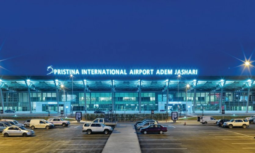 Aéroport international de Prishtina.
