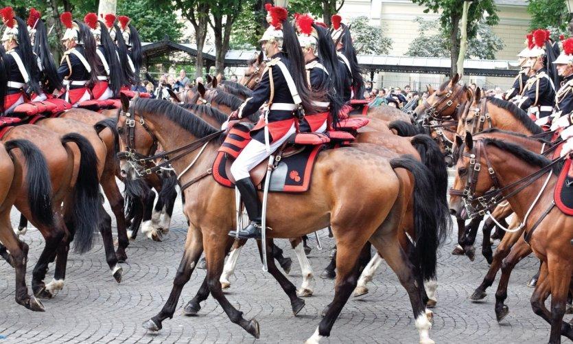Défilé du 14 juillet à Paris.