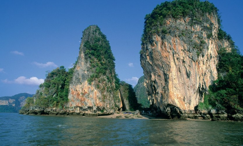 Baie de Phang Nga.