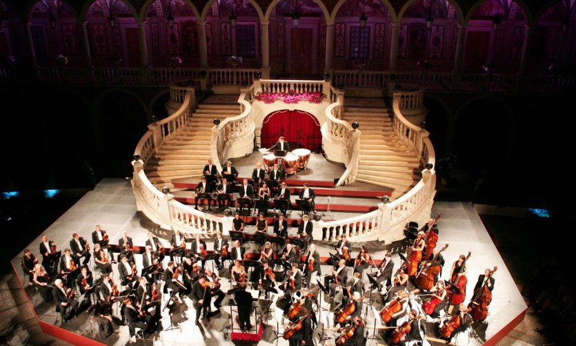 Orchrestre philarmonique Monte Carlo.