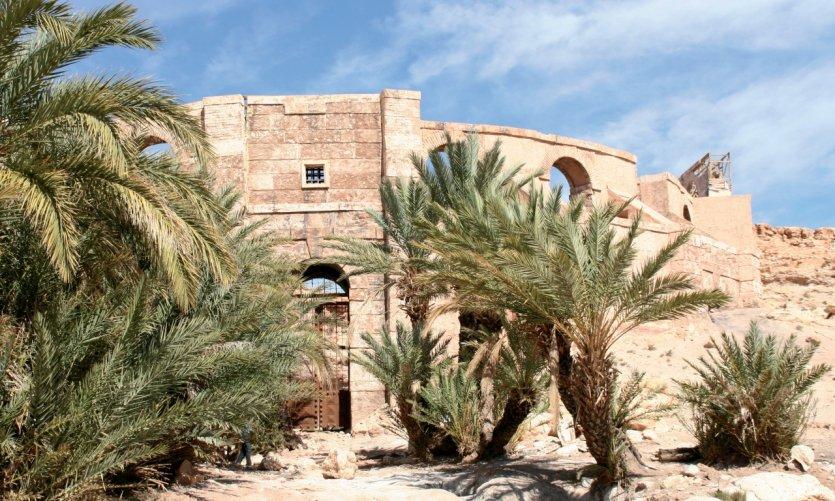 Décors des studios de cinéma de Ouarzazate.