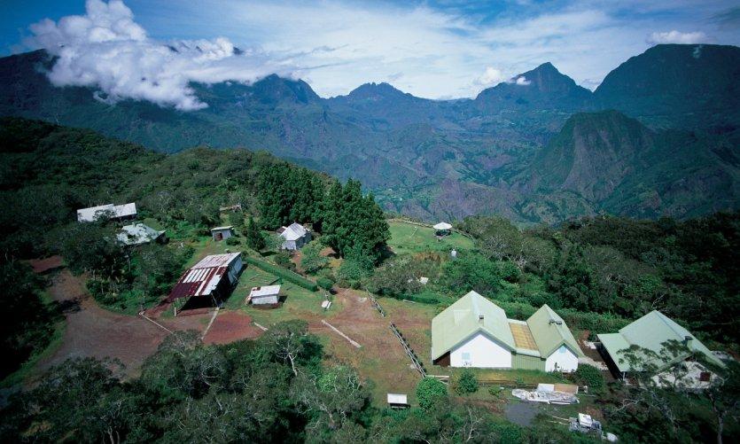 Habitations du cirque de Cilaos.