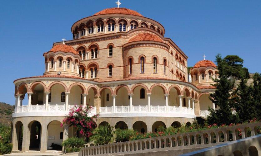 Monastère de Saint Nectarios, Aigina.