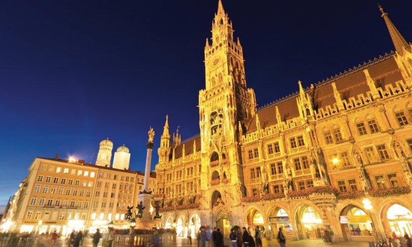 <p>Neues Rathaus.</p>