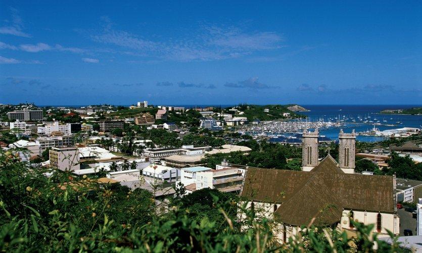 Panorama de Nouméa.