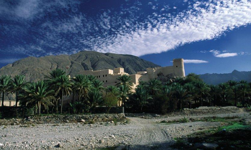 Muy de Nakhal en el norte.