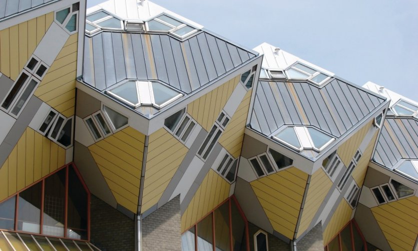 <p>You can even sleep in the mythical cubic houses of Piet Blom in Rotterdam!</p>