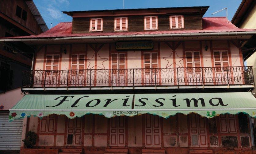 Le centre-ville historique de Cayenne.