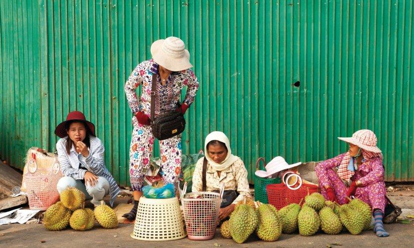 Mercado de Kep.