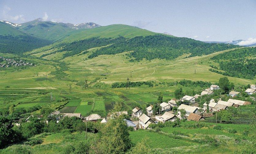 <p>Village near Vanadzor.</p>